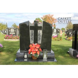 MEET YOU AT THE GATE MONUMENT UPRIGHT HEADSTONE