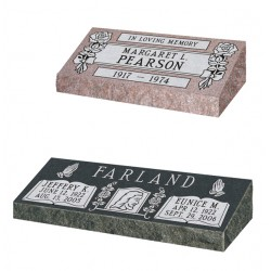 Pillow Granite Grave Marker