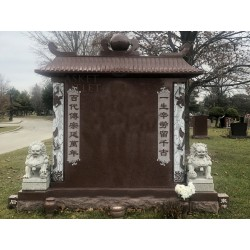 ROYAL VILLA MONUMENT HEADSTONE