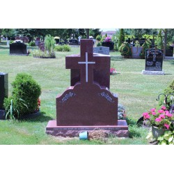 Simple Cross Monument Headstone (COM-CROSS-6)