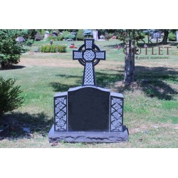 Cross Monument Headstone