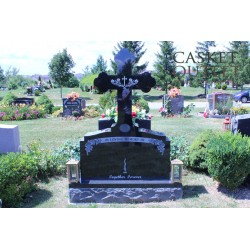Orthodox Cross Monument Headstone