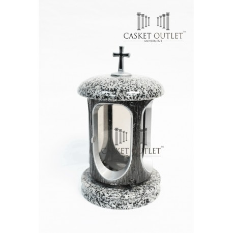 Cemetery Stone Lantern,Gray Granite Lantern