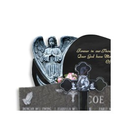 Custom Headstone, Cemetery Monument