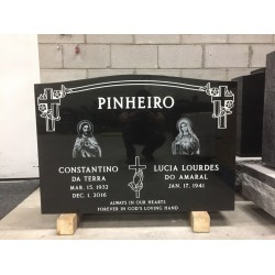 Impact Etching Photo for Monument, Grave Marker, headstone