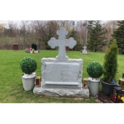 Orthodox Cross Monument, Headstone