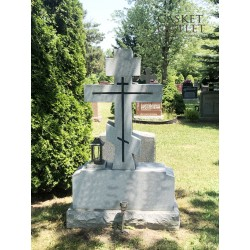 Simple Cross Monument,cross shaped headstone