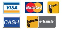casket outlet monument payment, visa card ,master card,e-transfer,debit card