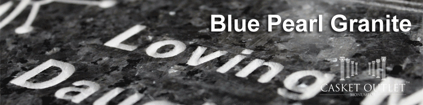 BLUE PEARL COLOR GRANITE MONUMENTS