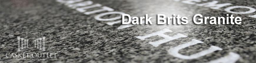 dark brits granite monuments