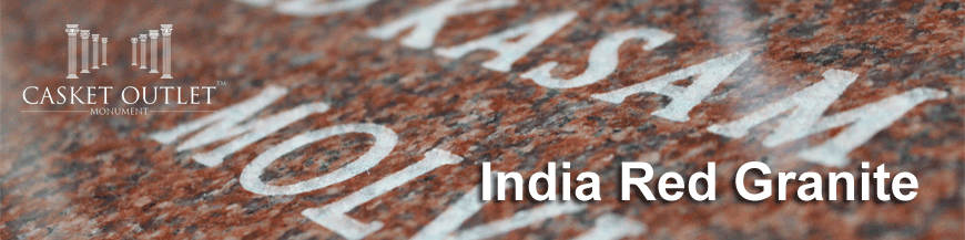 INDIA RED COLOR GRANITE MONUMENTS