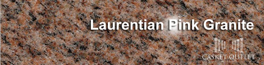 LAURENTIAN PINK COLOR GRANITE MONUMENTS