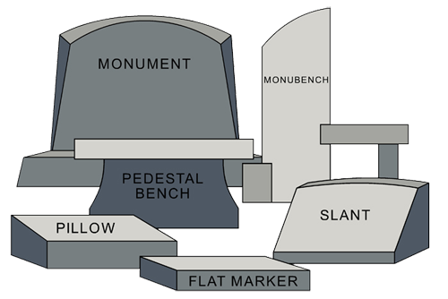 monuments,headstones,grave markers